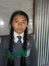 Pramita Class 8 sponsored student from Sotang