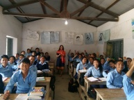 More fun at school in Sotang