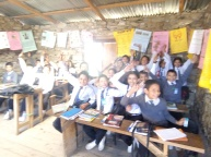 Fun and lively English class in Sotang